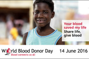 14 ژوئن، روز جهانی اهدای خون