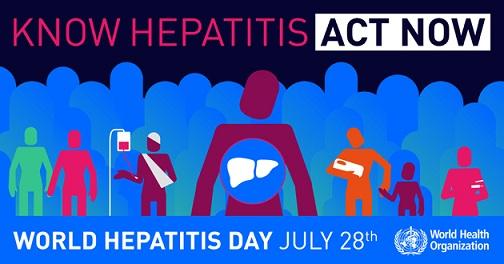 28 جولای روز جهانی هپاتیت
